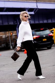 Charlotte Deckers Photography | FashionWeek NewYork AW19 Fashion Streetstyle Caro Daur