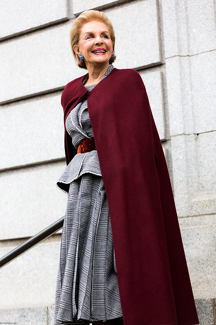Charlotte Deckers Photography   FashionWeek NewYork AW19 Fashion Streetstyle Carolina Herrera