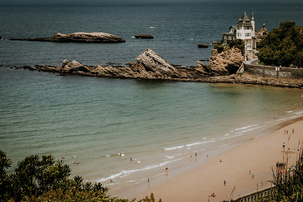 Charlotte Deckers Photography Travel Photographer Biarritz Basque Country Landscape
