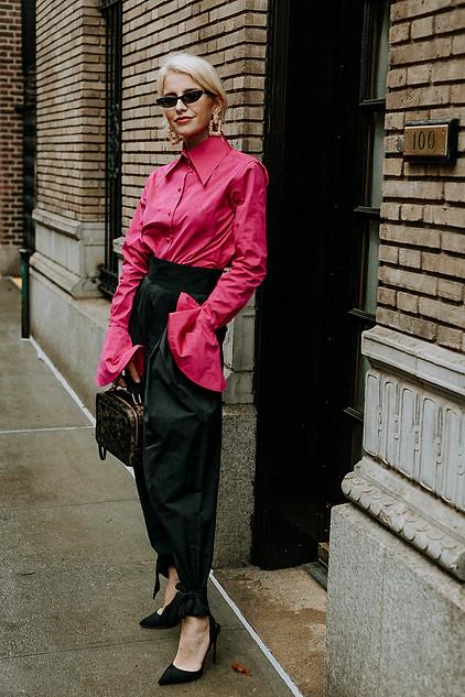 Charlotte Deckers Photography   FashionWeek NewYork SS19 Fashion Streetstyle Caro Daur