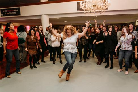 Charlotte Deckers Photography   Event Photographer   Woman Dancing Dancefloor People