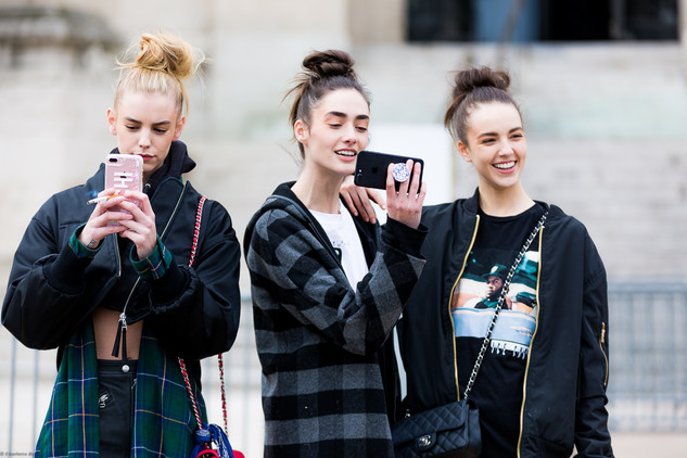 Charlotte Deckers Photography | FashionWeek Paris SS18 Fashion Streetstyle Models