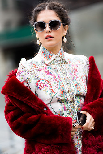 Charlotte Deckers Photography | FashionWeek NewYork AW19 Fashion Streetstyle Blank Itinerary