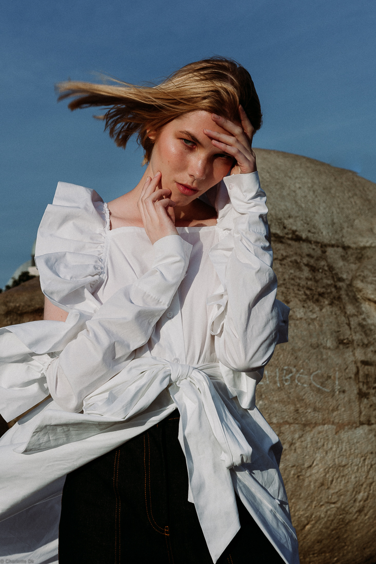 Charlotte Deckers Photography | Fashion Brand Editorial Exterior Photoshoot Female Model