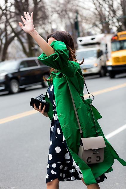 Charlotte Deckers Photography   FashionWeek NewYork AW19 Fashion Streetstyle Rania Fawaz