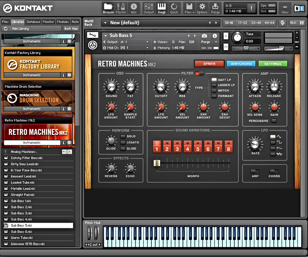 Native Instruments' Kontakt