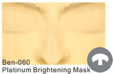Ben-060 Platinum Brightening Mask 6 sets / box