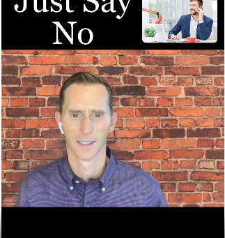 JUST SAY NO!