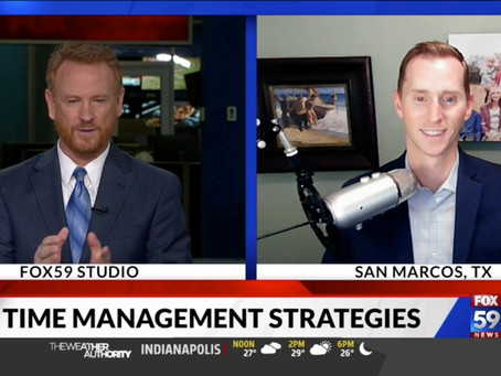 5 Time Management Tips for Better Balance (Fox News Interview)
