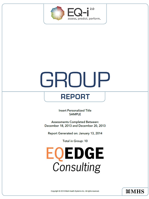 EQ-i 2.0 Group Summary