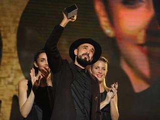 Abel Pintos se quedó con su tercer Gardel de Oro
