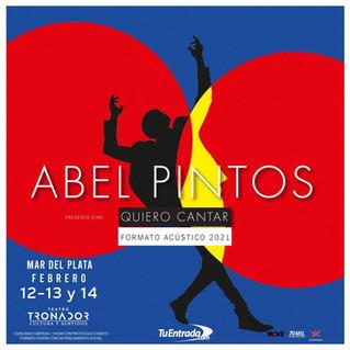 "Abel Pintos inicia la gira ""Quiero Cantar"""