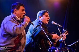 Onofre y Martín Paz juntos en un escenario