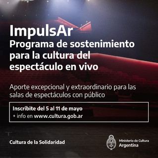 """Reunión informativa sobre """"Programa de sostenimiento para la cultura del espectáculo en vivo"""""""