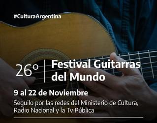 XXVI Festival Guitarras del Mundo