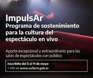 Lanzan programa de sostenimiento para la cultura del espectáculo en vivo