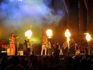 12 mil personas disfrutaron de la primera noche del Chayero Sanagasteño
