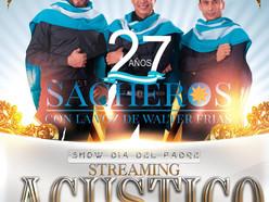 """Los Sacheros presentan su """"Show Día del Padre"""" vía streaming"""