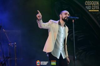 Abel Pintos festejó sus 20 años en Cosquín durante la primera luna