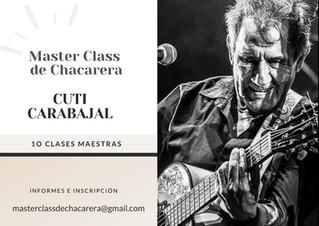Master Class de chacarera por Cuti Carabajal
