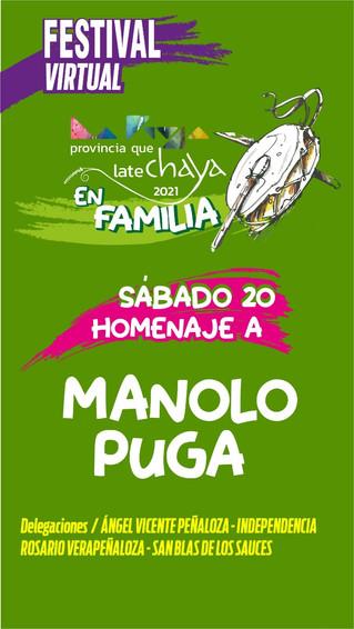 """Tercer día de la """"Chaya En Familia"""", homenaje a Manolo Puga"""