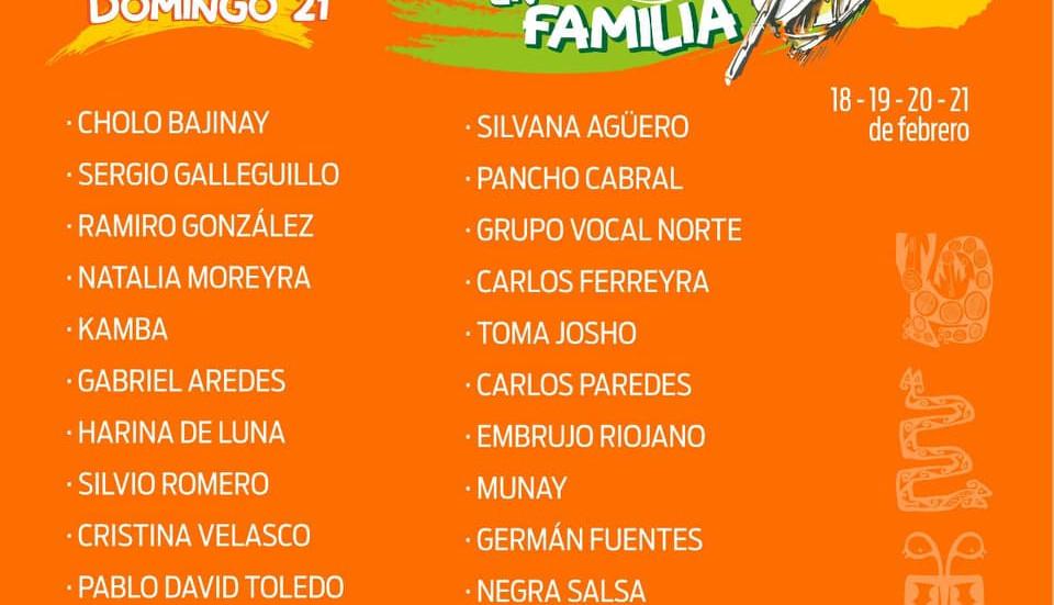 Último día de la Chaya En Familia, homenaje a Cholo Bajinay