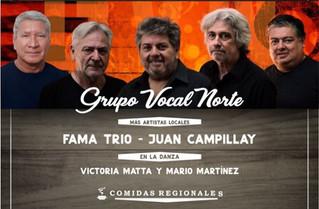 Charla-debate y peña de Grupo Vocal Norte en Chilecito