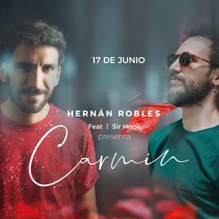 """Hernán Robles presenta """"Carmín"""", un adelanto de su cuarto disco"""
