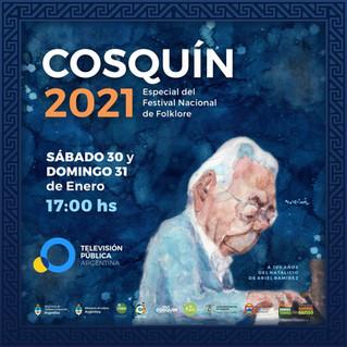 La 61° Edición del Festival de Cosquín a través de La Televisión Publica