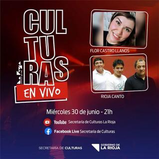 """Nuevo programa de """"Culturas en vivo"""""""