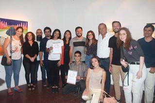 Inauguración muestra concursos Chaya 2019