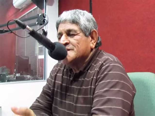 El Negro Cortez recordó a su amigo Quito Carballo
