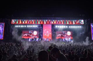 Chaya 50 años: Carnaval y fiesta en la primera noche