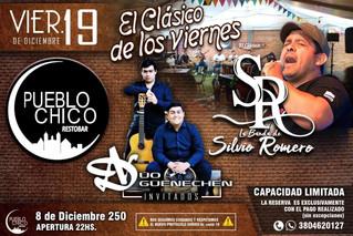 """Último """"Clásico..."""" del año de Silvio Romero y su banda"""