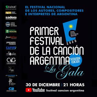 El Primer Festival de la Canción Argentina premia a autores, compositores e interpretes