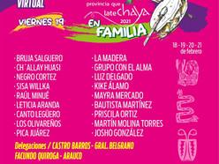 "Segundo día de la ""Chaya En Familia"", homenaje a ""La Bruja"" Salguero"