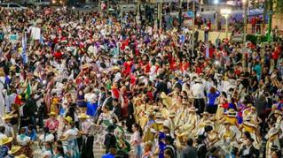 Record Guinnes de bailarines en fiesta de La Telesita