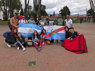 Compañía de Aimogasta participa en Festival Internacional en Colombia