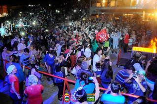 La Chaya llegó a los carnavales de Cosquín
