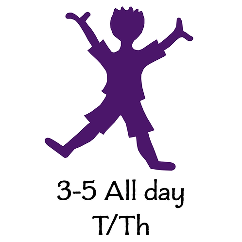 3-5 All Day T/Th