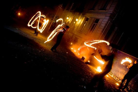 2008-08-09 - Cirque@taque - Vuurshow - 0