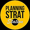 Logo PlanningStrat-Station, Brand & Content Marketing
