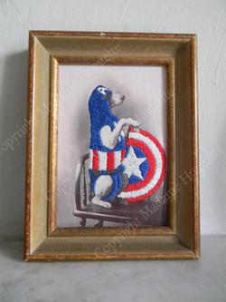captain america deco objets insolites décorations idée cadeau cabinet de curiosités