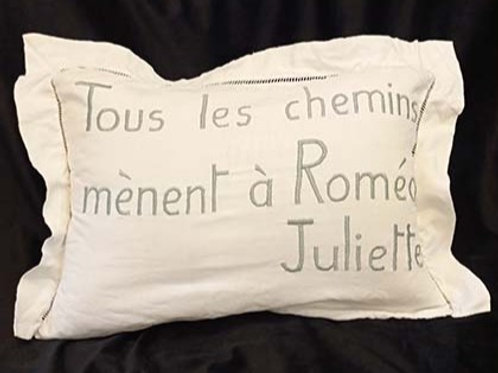 """""""Tous les chemins mènent à Roméo"""" Juliette"""