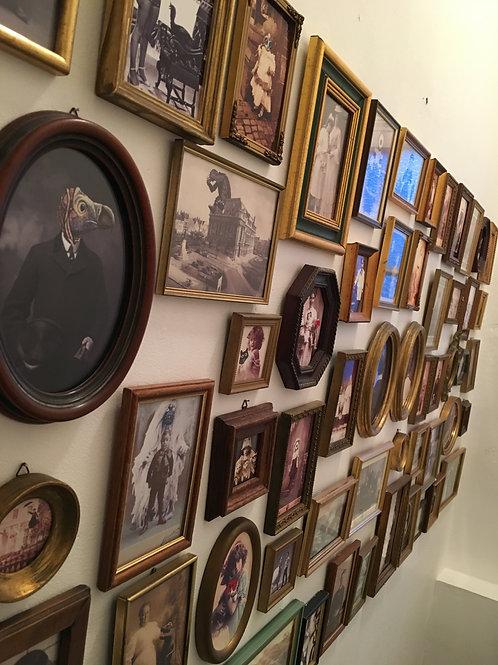 Pêle Mêle de cadres photos anciennes retouchées