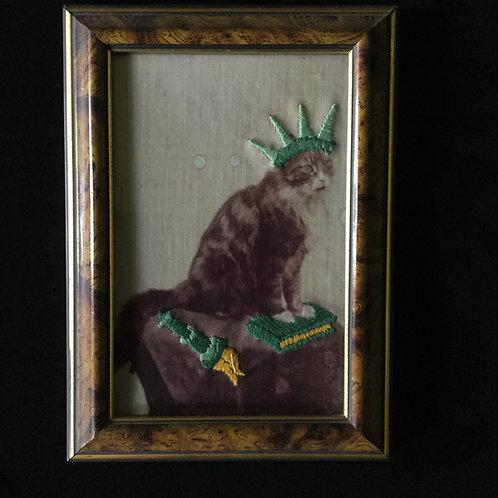 Héros à quatre pattes - Miss Liberty