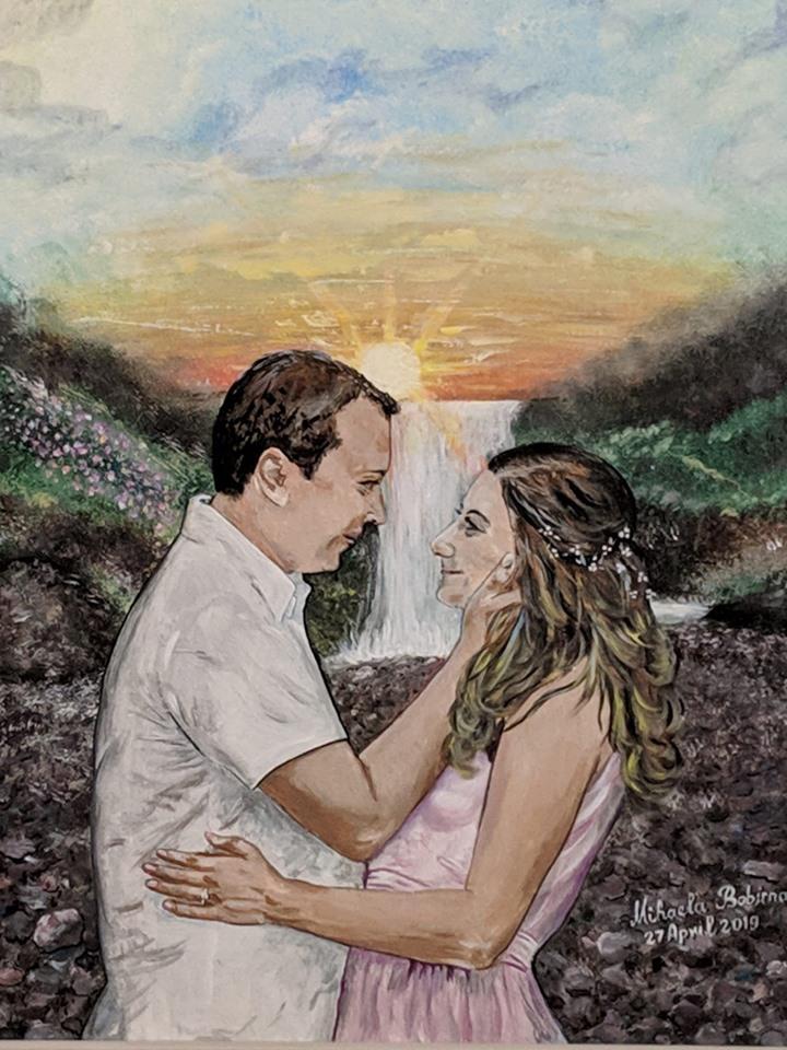 O&L Acrilic painting on canvas 20X16
