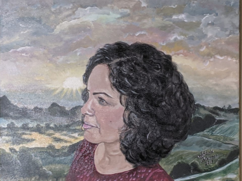 Pina Acrylic painting on canvas 16x20