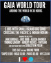 3 HR Live streaming for World Environment Day as part of the Gaia World Tour