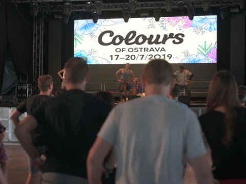 Colors of Ostrava - Dance Workshop